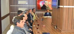 Bozyazı SYDV toplantısı Kaymakam Taşdan başkanlığında yapıldı