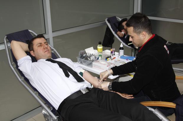 TKDK Çankırı Koordinatörlüğünden kan bağışına destek
