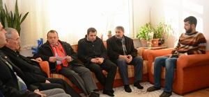 Başkan Acar, Hakkari ve El Bab gazilerini ziyaret etti