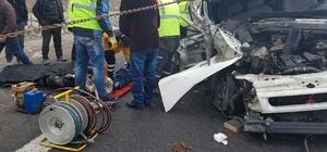 Niğde'de trafik kazası; 1 ölü 1 yaralı