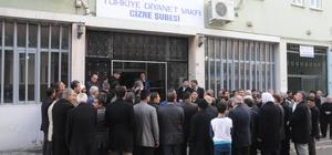 TDV Cizre Şubesinin yeni bürosu açıldı