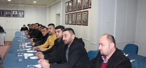 GMİS, Karadon Şube temsilciler toplantısı yapıldı