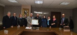 Sivaslılar, İzmit Belediye Başkanı Nevzat Doğan'ı ziyaret etti