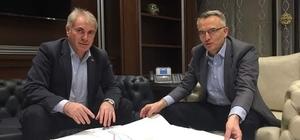Başkan Memiş'ten Maliye Bakanı Ağbal'a Ziyaret