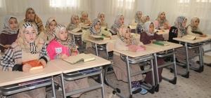 Cizre'de Yatılı Kız Kuran Kursu dualarla açıldı