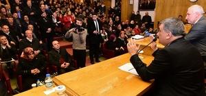 Battalgazi'de Ak Parti ilçe teşkilatı, mahalle başkanları ile bir araya geldi