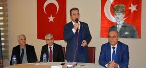 CHP Genel Başkan Yardımcısı Bülent Tezcan'dan Söke'de partilileriyle buluştu