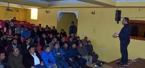 Yıldızeli'nde pancar üreticilerine yönelik seminer düzenlendi