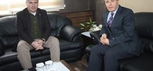 Karadağ'dan Başkan Memişe'e veda ziyareti