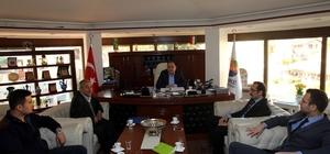 Başkan Sarıoğlu, Akdeniz Elektrik Bölge Müdürünü ağırladı