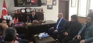 AK Parti'den Güngör'e ziyaret