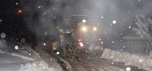 Düzce'de 13 köy yolu kar nedeniyle ulaşıma kapalı