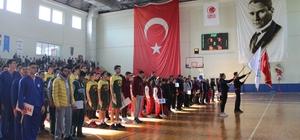 Türkiye Okul Sporları Basketbol Yarı Final Turnuvası başladı