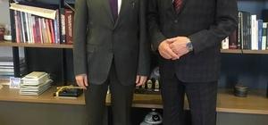 Başkan Keleş müsteşar ile bir araya geldi