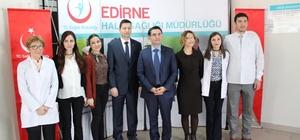 Edirne'de Sağlıklı Yaşam Merkezi hizmete açıldı