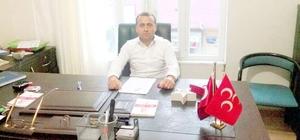 Besni'de MHP'li İlçe Başkanı Hamdi Arslan:
