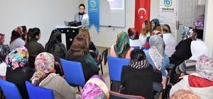 'Anne ve Çocuk' konulu bilgilendirme semineri Çorlu'da gerçekleşti