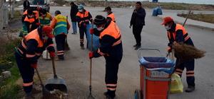 Akdeniz ilçesinde temizlik seferberliği