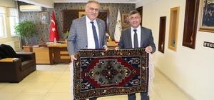 AK Parti Yerel Yönetimler Başkan Yardımcısı, Belediye Başkanı Faruk Akdoğan'ı ziyaret etti