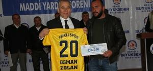 Büyükşehir'den amatör spor kulüplerine destek sürüyor