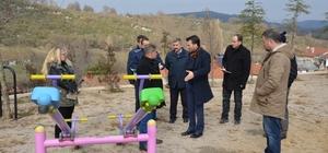 Balya'da Başkan Kılıç Kayalar'ı ziyaret etti