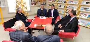 Başkan Gürkan, BİLSAM'I ziyaret etti