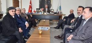 Cem Vakfı Genel Başkanı'ndan Başkan Albayrak'a ziyaret