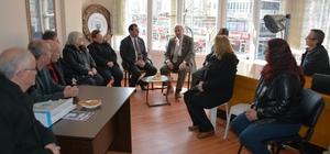 Başkan Albayrak, Muratlı ADD Şubesi'ni ziyaret etti