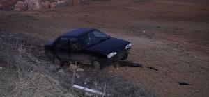 Adıyaman'da otomobil şarampole devrildi: 4 Yaralı