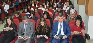 Yılmaz Akpınar Mesleki Ve Teknik Anadolu Lisemizde okuma saati