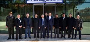 Vali Mehmet Ceylan Hayrabolu'da incelemelerde bulundu
