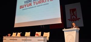 Halk buluşmasında Türkiye'de Cumhurbaşkanlığı Sistemi konuşuldu