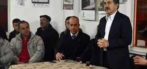 Başkan Ataç, mahalle ziyaretlerinde