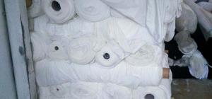Bursa'da çalıntı kumaş operasyonu