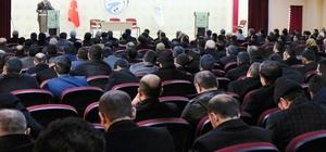 Müftü Arvas Erciş'te konferans verdi