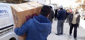 Beşiktaş taraftarından depremzedelere destek