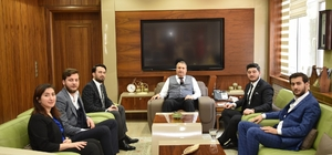Başkan Gerçi MAGİAD'ı konuk etti