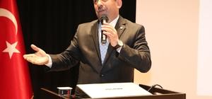 Başkan Karabacak, referandum sürecini gençlere anlattı