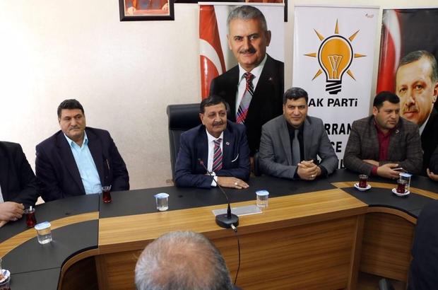 Harran'da AK Parti Şubat Ayı Danışma Meclisi toplantısı yapıldı