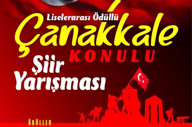 """""""Çanakkale"""" konulu şiir yarışması düzenlenecek"""
