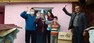 LÖSEV'den ihtiyaç sahibi ailelere eşya yardımı