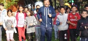 Darıca'da sağlıklı yaşam yürüyüşü