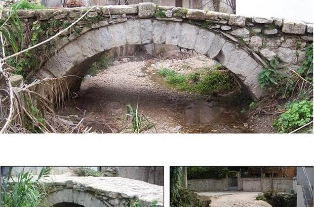 Urla'da tarihi köprüler yenileniyor