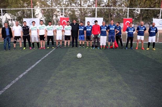 Akçakale Belediyesi halı saha futbol turnuvası başladı