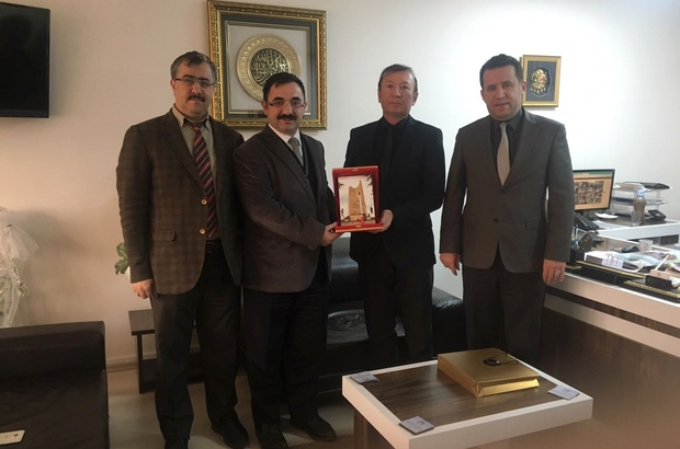 Beylikova Belediye Başkan Yardımcısı Kaya, Bozüyük Belediyesini ziyaret etti