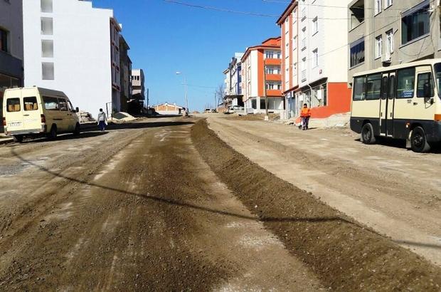 Tekirdağ'da yol yapım ve onarım çalışmaları hızlandı