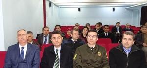 İncirliova'da Taşıma Güvenliği toplantısı yapıldı