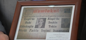 Alaplı, Nahiye oluşunun 1930 yılında Mustafa Kemal Atatürk'ün imzasıyla belgelendi