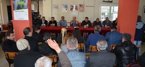 Kaymakam Kurtbeyoğlu, halk toplantısına Yenidoğan'da devam etti