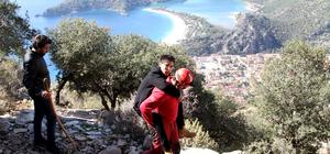 Fethiye'de yamaç paraşütü kazası
